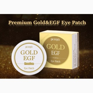 PETITFEE Гидрогелевые патчи для глаз Premium Gold EGF