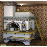 Русские печи с лежаком