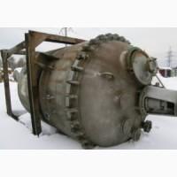 Реактор эмалированный, объем - 6, 3 куб.м., рубашка, мешалка, зеленная эмаль