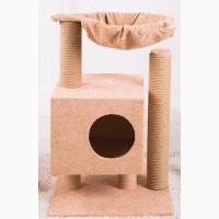 Когтеточки, домики, игровые комплексы для кошек