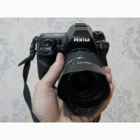 Pentax K-7 с объективом 18-55 SMC DA