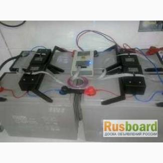 Системы балансировки свинцовых аккумуляторов