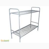 Металлические кровати двухъярусные от 1600 рублей кровати для рабочих и строителей