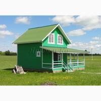 Новый теплый дом с верандой, в экологически чистом месте, рядом с озером Плещеево