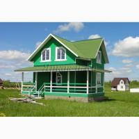 Новый теплый дом с верандой, у знаменитого озера Плещеево