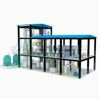 1-10 тонн/сутки мини-завод по рафинации подсолнечного масла