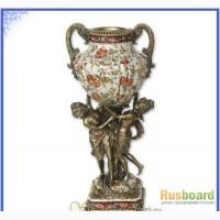Продаётся Ваза из фарфора Танцующие нимфы, рисунок Гвоздика.Высота 48