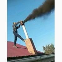 Вакуумная очистка дымоходов