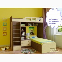 Детская двухъярусная кровать Астра 4