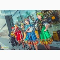 Русский фольклорный ансамбль у барина