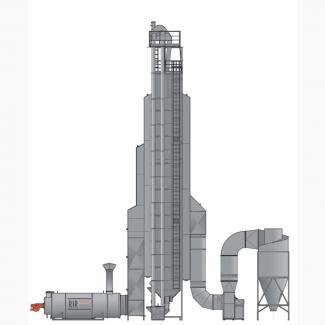 Зерносушилка шахтная 50 т/час