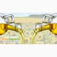 Масла растительные технические и пищевые на экспорт. Подсолнечное масло