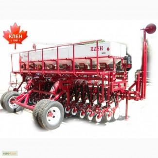 Сеялка зернотуковая КЛЕН для традиционной и минимальной подготовки почвы