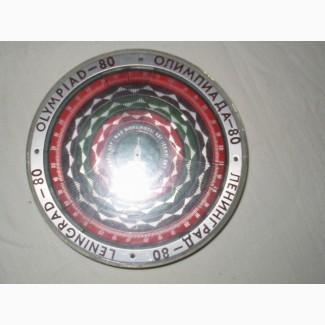 Счетчик биоритмов, оформленный с использованием символов Олимпиады-80