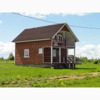 Новый теплый дом с верандой и эркером, из экологически чистых материалов, у озера Плещеево