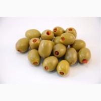 Оливки Халкидики Фаршированные зеленые s.s.mammot 70/90 -4400мл (ассортимент) Греция