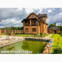 Продается участок 20 cоток ИЖС в п. Шапки (Лен. область) с трехэтажным домом 300 м.кв