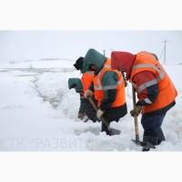 Уборка снега цена за час СПб