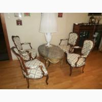 Антикварные кресла. Комплект-4 шт. 19 век. Западная Европа. После реставрации