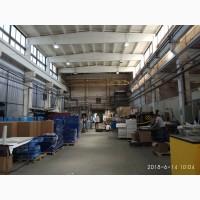 Аренда производственно-складского помещения с кран-балками