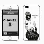 Виниловые наклейки на айфон