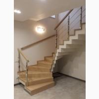Деревянные лестницы на заказ + монтаж в подарок