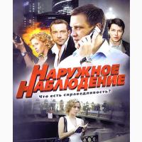 Наружное наблюдение сериал Россия
