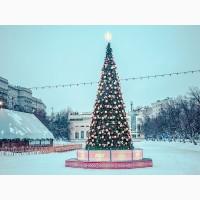 Искусственные елки (от 6 до 20м), новогодние уличные елки от производителя