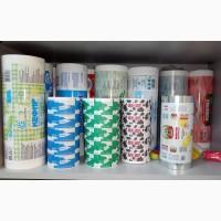 Упаковка для фасовки сахара, крупп, муки, молока, хлеба (пленки БОПП, ламбумага, ПЭ и пр)