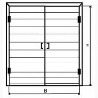 Дверь для районов минус 40 С, серия 1.436.2-31.93