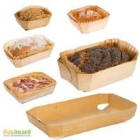 Одноразовые деревянные формы для выпечки хлеба