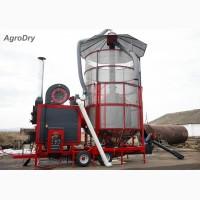 Зерносушилка на угле/пеллетах - AgroDry TKM-33SF.Самара