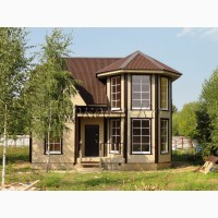 Новый теплый дом рядом озером Плещеево, с газом по границе участка