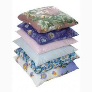 Пуховая подушка по ценам производства 320 рублей в гостиницы и общежития, подушки продаем