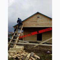 Строю бани дома из бруса под ключ