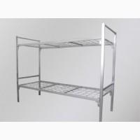 Кровати двухъярусные, кровати для бытовок, кровати металлические эконом