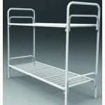 Кровати металлические одноярусные, для бытовок, кровати двухъярусные для студентов