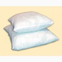 Мягкие подушки Файбер оптом по 195 рублей, подушки 60-60 см для общежитий студентов