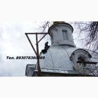 Работы по восстановлению и ремонту кровли, в том числе храмов и церквей
