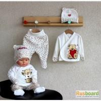 Оптовые поставки одежды для новорожденных от производителя