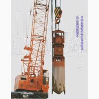 Вибрационный грейфер для вертикальной выемки грунта VB45