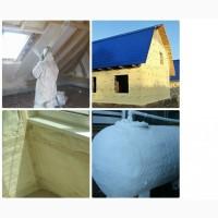 Недорогое утепление домов пенополиуретаном (ППУ) от дилера