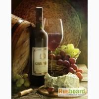 Домашнее грузинское сухое вино Саперави, Ркацители