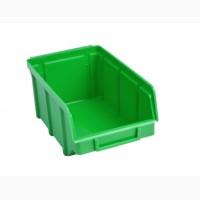 Складской пластиковый ящик для хранения инструментов и автозапчастей